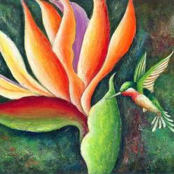 paradise & freedom, 12 x 17 inch, deepa singh,12x17inch,cartridge paper,paintings,abstract paintings,wildlife paintings,flower paintings,expressionism paintings,paintings for dining room,paintings for living room,paintings for bedroom,paintings for office,paintings for kids room,paintings for hotel,acrylic color,GAL01060126672