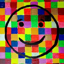 life is colorful... smile!, 14 x 18 inch, rishaan patil,14x18inch,canvas,paintings,pop art paintings,acrylic color,GAL01590426744