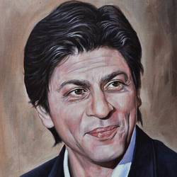 srk, 14 x 18 inch, debojyoti boruah,14x18inch,canvas board,paintings,figurative paintings,portrait paintings,photorealism paintings,photorealism,portraiture,realism paintings,realistic paintings,paintings for dining room,paintings for living room,paintings for bedroom,paintings for office,paintings for hotel,paintings for kitchen,paintings for school,paintings for hospital,acrylic color,GAL01261426826