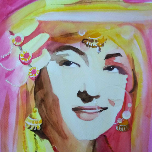 madhubala, 9 x 12 inch, neha musale,9x12inch,brustro watercolor paper,portrait paintings,paintings for dining room,paintings for living room,paintings for bedroom,paintings for office,paintings for hotel,paintings for kitchen,paintings for school,paintings for hospital,paintings for dining room,paintings for living room,paintings for bedroom,paintings for office,paintings for hotel,paintings for kitchen,paintings for school,paintings for hospital,watercolor,paper,GAL01557726937