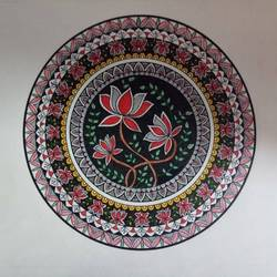 madhubani, 10 x 9 inch, pranoti kulkarni,10x9inch,cartridge paper,paintings,folk art paintings,madhubani paintings | madhubani art,paintings for living room,paintings for office,paintings for hotel,ink color,pen color,paper,GAL01499726939