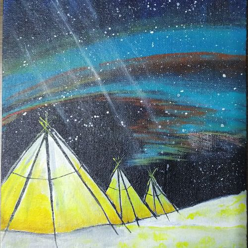 northern lights, 8 x 10 inch, mishika gupta,8x10inch,canvas,landscape paintings,conceptual paintings,nature paintings | scenery paintings,art deco paintings,contemporary paintings,paintings for dining room,paintings for living room,paintings for bedroom,paintings for office,paintings for bathroom,paintings for kids room,paintings for hotel,paintings for kitchen,paintings for school,paintings for hospital,paintings for dining room,paintings for living room,paintings for bedroom,paintings for office,paintings for bathroom,paintings for kids room,paintings for hotel,paintings for kitchen,paintings for school,paintings for hospital,acrylic color,GAL01210726974