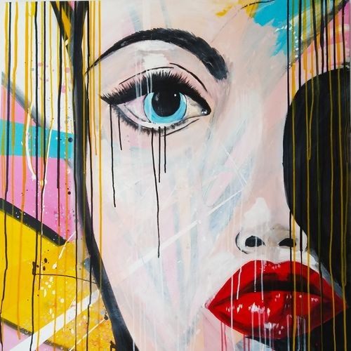 beautiful eye, 38 x 48 inch, shyam soni,38x48inch,canvas,paintings,abstract paintings,modern art paintings,portrait paintings,abstract expressionism paintings,paintings for dining room,paintings for living room,paintings for bedroom,paintings for office,paintings for hotel,acrylic color,GAL01612626979