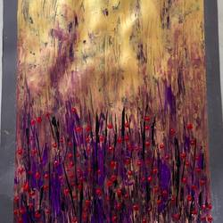 goldmine , 15 x 23 inch, diana jackson,15x23inch,canson paper,abstract paintings,abstract expressionism paintings,acrylic color,paper,GAL01587626999