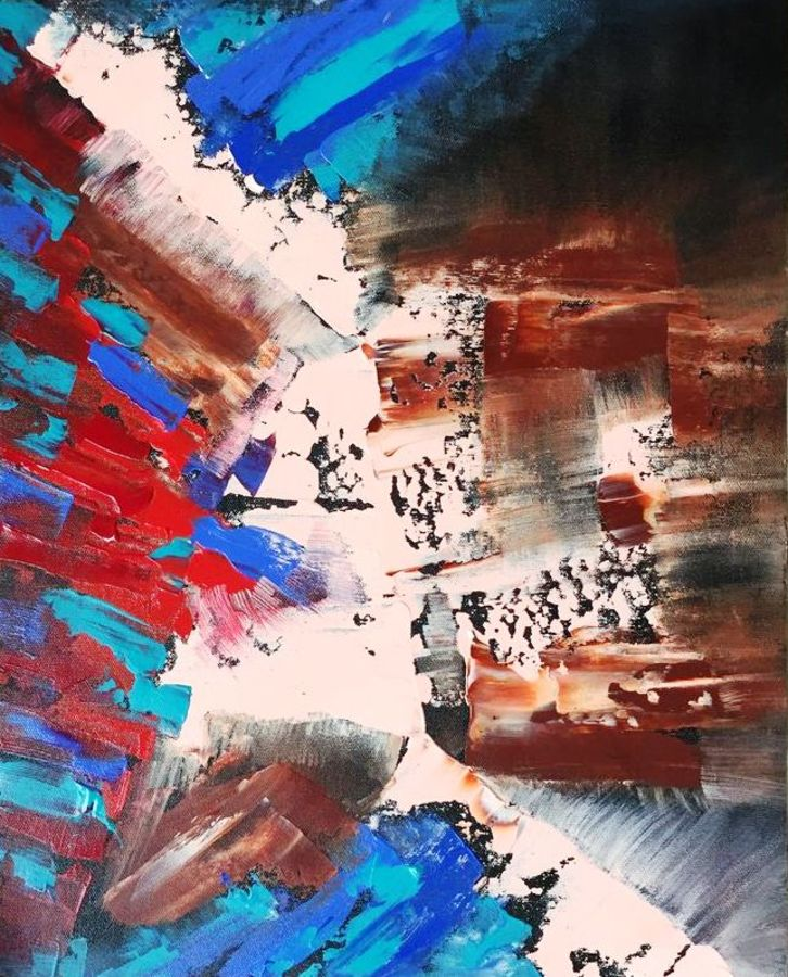 the coloured city bird view , 14 x 18 inch, diana jackson,14x18inch,canvas,paintings,abstract paintings,modern art paintings,abstract expressionism paintings,acrylic color,GAL01587627001