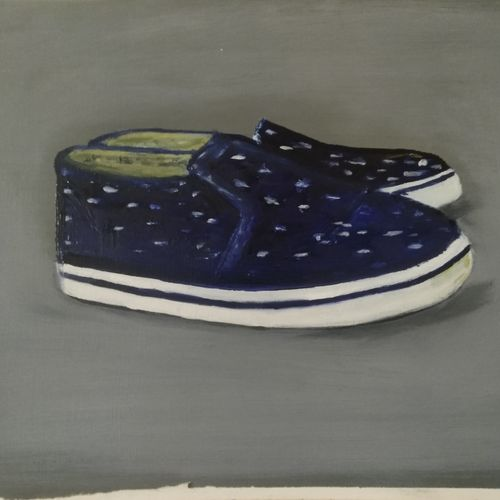 imperfectly perfect sneakers, 12 x 17 inch, sumit maurya,12x17inch,oil sheet,paintings,figurative paintings,modern art paintings,conceptual paintings,expressionism paintings,illustration paintings,minimalist paintings,pop art paintings,paintings for living room,paintings for bedroom,paintings for bathroom,paintings for kids room,paintings for hotel,paintings for living room,paintings for bedroom,paintings for bathroom,paintings for kids room,paintings for hotel,oil color,GAL01345727019