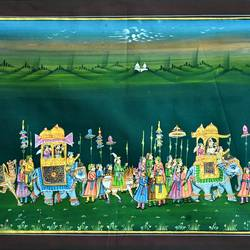 kishangarh shelly, 13 x 17 inch, vishal gurjar,13x17inch,cloth,paintings,miniature painting.,paintings for living room,paintings for hotel,paintings for school,oil color,GAL0778127066