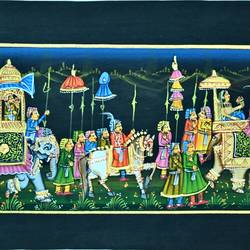 kishangarh shelly, 14 x 10 inch, vishal gurjar,14x10inch,cloth,paintings,miniature painting.,paintings for living room,paintings for hotel,paintings for school,oil color,GAL0778127071