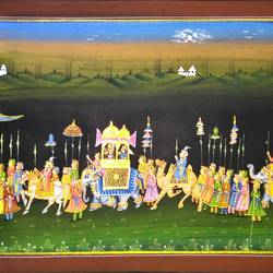 kishangarh shelly, 21 x 15 inch, vishal gurjar,21x15inch,cloth,paintings,miniature painting.,paintings for living room,paintings for hotel,paintings for school,oil color,GAL0778127082