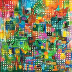 palette , 24 x 24 inch, aparna joshi,24x24inch,canvas,paintings,abstract paintings,children paintings,kids paintings,paintings for kids room,paintings for school,acrylic color,GAL01573627101