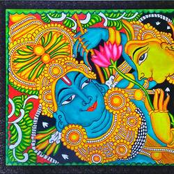 radha krishna, 26 x 22 inch, latha bhaduri saravanabala prabakar,26x22inch,canvas,religious paintings,radha krishna paintings,kerala murals painting,paintings for living room,paintings for bedroom,paintings for office,paintings for hotel,paintings for hospital,paintings for living room,paintings for bedroom,paintings for office,paintings for hotel,paintings for hospital,acrylic color,GAL01621027121