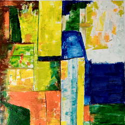 color abstraction, 31 x 42 inch, anand manchiraju,31x42inch,canvas,paintings,abstract paintings,paintings for dining room,paintings for living room,paintings for bedroom,paintings for office,paintings for hotel,oil color,GAL01254027124