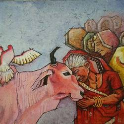 spirituality , 36 x 30 inch, shatakshi  sharma,36x30inch,canvas,abstract paintings,figurative paintings,modern art paintings,religious paintings,animal paintings,contemporary paintings,love paintings,paintings for dining room,paintings for living room,paintings for bedroom,paintings for office,paintings for kids room,paintings for hotel,paintings for kitchen,paintings for school,paintings for hospital,paintings for dining room,paintings for living room,paintings for bedroom,paintings for office,paintings for kids room,paintings for hotel,paintings for kitchen,paintings for school,paintings for hospital,acrylic color,GAL0670327169
