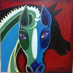 shadow, 24 x 24 inch, savita  gupta,24x24inch,canvas,abstract paintings,acrylic color,GAL01608227217