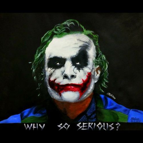 joker-heath ledger, 14 x 11 inch, itishree  sahu,14x11inch,thick paper,abstract paintings,figurative paintings,modern art paintings,portrait paintings,abstract expressionism paintings,pop art paintings,street art,paintings for living room,paintings for bedroom,paintings for office,paintings for bathroom,paintings for hotel,paintings for kitchen,paintings for living room,paintings for bedroom,paintings for office,paintings for bathroom,paintings for hotel,paintings for kitchen,acrylic color,paper,GAL01387327219