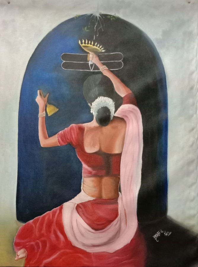 lord shiva, 26 x 34 inch, ila  singh,26x34inch,canvas,paintings,figurative paintings,conceptual paintings,religious paintings,expressionism paintings,illustration paintings,impressionist paintings,photorealism paintings,photorealism,realism paintings,lord shiva paintings,paintings for dining room,paintings for living room,paintings for bedroom,paintings for office,paintings for kids room,paintings for hotel,paintings for school,paintings for hospital,oil color,GAL0795927261