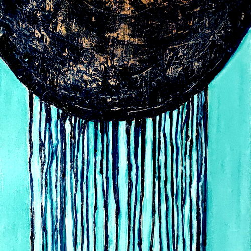 abstract drip painting-5, 30 x 42 inch, anand manchiraju,30x42inch,canvas,paintings,abstract paintings,abstract expressionism paintings,paintings for living room,paintings for office,paintings for hotel,oil color,GAL01254027300