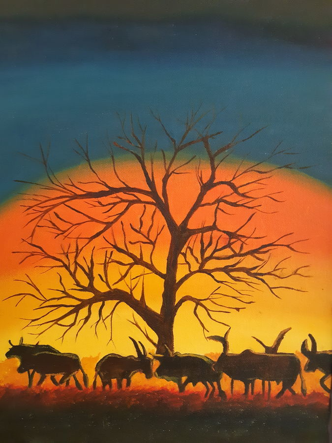 Buy Nature At Its Best Painting At Lowest Price By Niketa Khare