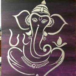 lord ganesha, 18 x 24 inch, arnab gazi,18x24inch,canvas,paintings,ganesha paintings | lord ganesh paintings,paintings for dining room,paintings for living room,paintings for office,paintings for hotel,paintings for school,paintings for hospital,acrylic color,GAL01609127475,ganpati bappa morya,ganesh chaturthi,ganesh murti,elephant god,religious,lord ganesh,ganesha,om,hindu god,shiv parvati, putra,bhakti,blessings,aashirwad,pooja,puja,aarti,ekdant,vakratunda,lambodara,bhalchandra,gajanan,vinayak,prathamesh,vignesh,heramba,siddhivinayak,mahaganpati,omkar,mushak,mouse,ladoo,modak