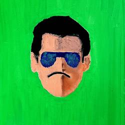 dabangg bhai, 16 x 20 inch, rishaan patil,16x20inch,canvas,paintings,pop art paintings,street art,kids paintings,acrylic color,GAL01590427484