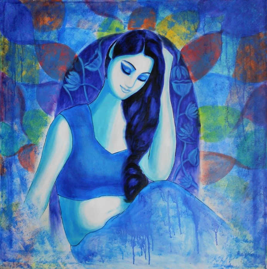obvious 2, 30 x 36 inch, dr rashmi  prasad,30x36inch,canvas,paintings,figurative paintings,acrylic color,GAL01436827516