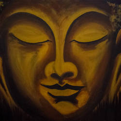 siddhartha, 48 x 36 inch, amey naik,48x36inch,canvas,paintings,abstract paintings,buddha paintings,religious paintings,portrait paintings,art deco paintings,paintings for living room,paintings for office,paintings for hotel,paintings for school,paintings for hospital,acrylic color,GAL0210427529