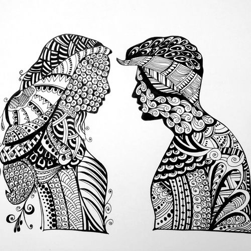 doodleart, 14 x 11 inch, deepjyoti behuria,14x11inch,drawing paper,drawings,paintings for dining room,paintings for living room,paintings for bedroom,paintings for hotel,paintings for kitchen,figurative drawings,modern drawings,paintings for dining room,paintings for living room,paintings for bedroom,paintings for hotel,paintings for kitchen,pen color,paper,GAL01507227556