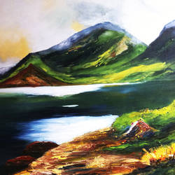 colour of life, 36 x 28 inch, sunil prasad,landscape paintings,nature paintings,paintings for living room,paintings for office,canvas,oil,36x28inch,GAL010242760Nature,environment,Beauty,scenery,greenery