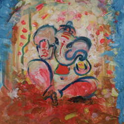 pinl ganesha, 11 x 15 inch, anna-g negi,11x15inch,canvas,abstract paintings,modern art paintings,religious paintings,abstract expressionism paintings,lord shiva paintings,paintings for dining room,paintings for living room,paintings for bedroom,paintings for office,paintings for kids room,paintings for hotel,paintings for kitchen,paintings for school,paintings for dining room,paintings for living room,paintings for bedroom,paintings for office,paintings for kids room,paintings for hotel,paintings for kitchen,paintings for school,acrylic color,GAL01519527655