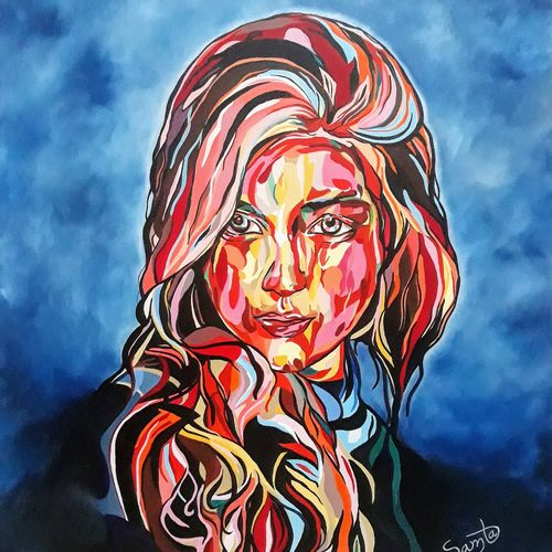 beauty in itself, 30 x 36 inch, samta bhatera,30x36inch,canvas,paintings,acrylic color,oil color,GAL0754327668