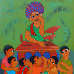 bioscope , 36 x 48 inch, dnyaneshwar  bembade ,36x48inch,canvas,paintings,figurative paintings,paintings for living room,paintings for bedroom,paintings for office,paintings for hotel,paintings for school,acrylic color,GAL046427689