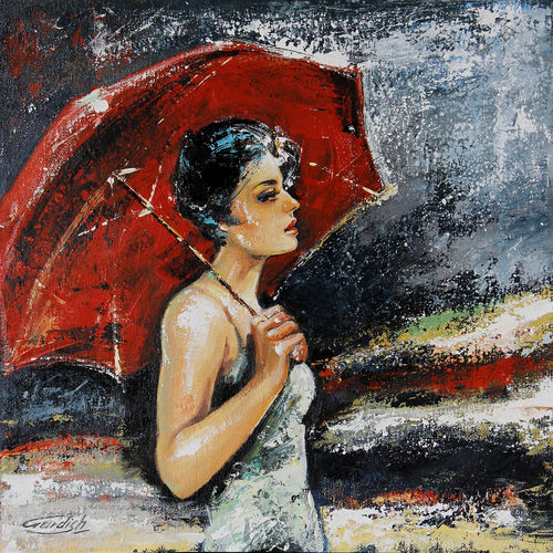 the evening wind, 18 x 18 inch, gurdish pannu,18x18inch,canvas,paintings,abstract paintings,modern art paintings,still life paintings,nature paintings   scenery paintings,paintings for dining room,paintings for living room,paintings for bedroom,paintings for hotel,acrylic color,oil color,GAL0253727705