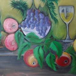 feast, 35 x 24 inch, vyshakh  shiburaj,35x24inch,canvas,conceptual paintings,paintings for dining room,paintings for living room,paintings for hotel,paintings for kitchen,figurative drawings,paintings for dining room,paintings for living room,paintings for hotel,paintings for kitchen,acrylic color,GAL01641027726