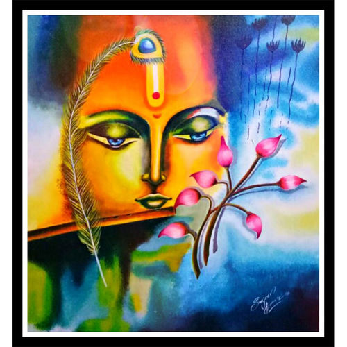 lord krishna , 24 x 24 inch, sanjeev kumar,24x24inch,canvas,religious paintings,paintings for dining room,paintings for living room,paintings for office,paintings for kids room,paintings for hotel,paintings for school,paintings for hospital,paintings for dining room,paintings for living room,paintings for office,paintings for kids room,paintings for hotel,paintings for school,paintings for hospital,acrylic color,GAL0456827736