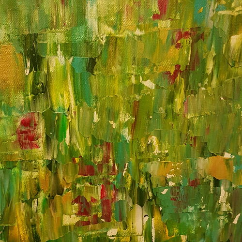 flowerbed - 021, 24 x 24 inch, deepali sinha,24x24inch,canvas,paintings,abstract paintings,modern art paintings,abstract expressionism paintings,expressionism paintings,contemporary paintings,paintings for dining room,paintings for living room,paintings for bedroom,paintings for office,paintings for kids room,paintings for hotel,paintings for kitchen,paintings for school,paintings for hospital,acrylic color,GAL01574227771