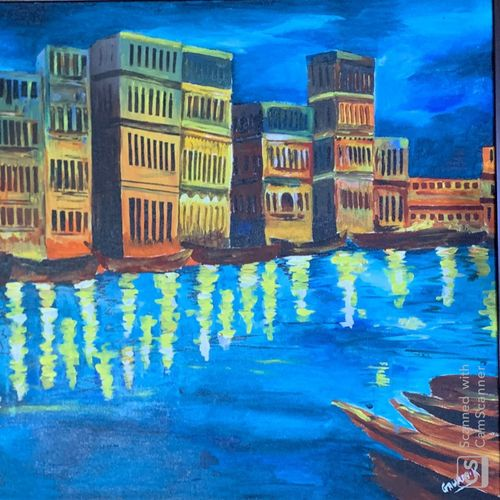 life by docks, 27 x 21 inch, gaurav kedia,27x21inch,canvas,paintings,landscape paintings,paintings for dining room,paintings for living room,paintings for bedroom,paintings for office,paintings for bathroom,paintings for kids room,paintings for hotel,paintings for kitchen,paintings for school,paintings for hospital,acrylic color,GAL01682327858