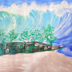 tsunami wave painting, 12 x 15 inch, anuj kushwaha,12x15inch,paper,landscape paintings,nature paintings | scenery paintings,expressionism paintings,paintings for dining room,paintings for living room,paintings for bedroom,paintings for office,paintings for bathroom,paintings for kids room,paintings for hotel,paintings for kitchen,paintings for school,paintings for hospital,paintings for dining room,paintings for living room,paintings for bedroom,paintings for office,paintings for bathroom,paintings for kids room,paintings for hotel,paintings for kitchen,paintings for school,paintings for hospital,acrylic color,paper,GAL01592627868