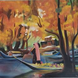 kashmir, 14 x 18 inch, kadambini agarwal,14x18inch,canvas,paintings,abstract paintings,wildlife paintings,flower paintings,cityscape paintings,landscape paintings,conceptual paintings,nature paintings | scenery paintings,abstract expressionism paintings,paintings for dining room,paintings for living room,paintings for bedroom,paintings for office,paintings for bathroom,paintings for kids room,paintings for hotel,paintings for kitchen,paintings for school,paintings for hospital,oil color,GAL01661427877