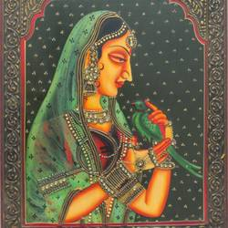 queen, 16 x 12 inch, vishal gurjar,16x12inch,wood board,paintings,figurative paintings,portrait paintings,paintings for living room,paintings for bedroom,paintings for hotel,acrylic color,oil color,GAL0778127927