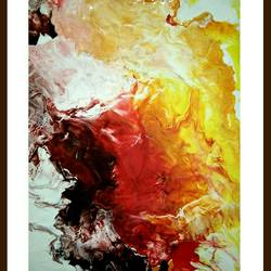 depth of fire , 12 x 15 inch, megh p,12x15inch,canvas,abstract paintings,paintings for dining room,paintings for living room,paintings for office,paintings for hotel,paintings for dining room,paintings for living room,paintings for office,paintings for hotel,acrylic color,GAL01680027938