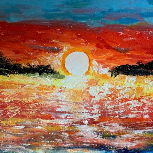 sunshine, 16 x 24 inch, gaurav kedia,16x24inch,canvas board,paintings,landscape paintings,nature paintings | scenery paintings,paintings for dining room,paintings for living room,paintings for bedroom,paintings for office,paintings for bathroom,paintings for kids room,paintings for hotel,paintings for kitchen,paintings for school,paintings for hospital,acrylic color,GAL01682327959