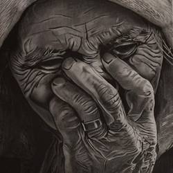 old lady, 8 x 12 inch, priya  shaw,8x12inch,thick paper,drawings,realism drawings,graphite pencil,GAL01650127998