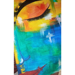 eyes, 6 x 8 inch, bhagyashree patkar,6x8inch,canvas,paintings,abstract paintings,acrylic color,GAL01667528019