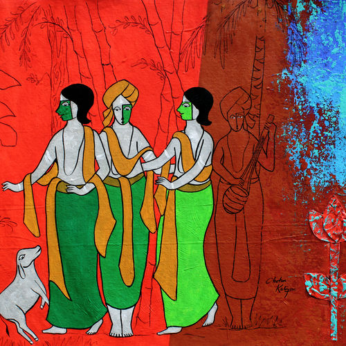 friendship, 28 x 22 inch, chetan katigar,28x22inch,canvas,paintings,abstract paintings,figurative paintings,modern art paintings,religious paintings,still life paintings,abstract expressionism paintings,art deco paintings,expressionism paintings,impressionist paintings,contemporary paintings,love paintings,paintings for living room,paintings for bedroom,paintings for office,paintings for bathroom,paintings for hospital,acrylic color,GAL026628034