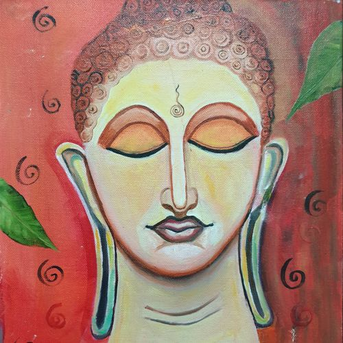 buddha, 10 x 12 inch, dini george,10x12inch,canvas,paintings,abstract paintings,buddha paintings,figurative paintings,conceptual paintings,religious paintings,still life paintings,portrait paintings,abstract expressionism paintings,art deco paintings,expressionism paintings,photorealism,portraiture,realism paintings,contemporary paintings,love paintings,paintings for dining room,paintings for living room,paintings for bedroom,paintings for office,paintings for bathroom,paintings for kids room,paintings for hotel,paintings for school,paintings for hospital,oil color,GAL01664428089