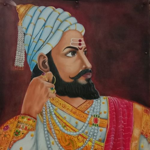 shivaji maharaj, 24 x 30 inch, ila  singh,24x30inch,canvas,conceptual paintings,religious paintings,still life paintings,portrait paintings,abstract expressionism paintings,expressionism paintings,illustration paintings,impressionist paintings,photorealism paintings,photorealism,portraiture,realism paintings,realistic paintings,paintings for dining room,paintings for living room,paintings for bedroom,paintings for office,paintings for kids room,paintings for hotel,paintings for school,paintings for hospital,paintings for dining room,paintings for living room,paintings for bedroom,paintings for office,paintings for kids room,paintings for hotel,paintings for school,paintings for hospital,oil color,GAL0795928104
