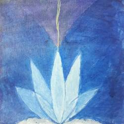 the lotus and positivity, 8 x 18 inch, ankur sharma,8x18inch,canvas,abstract paintings,flower paintings,religious paintings,expressionism paintings,paintings for dining room,paintings for living room,paintings for bedroom,paintings for hotel,paintings for school,paintings for hospital,paintings for dining room,paintings for living room,paintings for bedroom,paintings for hotel,paintings for school,paintings for hospital,acrylic color,GAL01682128150