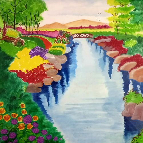 heidi spring scenery., 18 x 13 inch, nikita t,18x13inch,thick paper,paintings,flower paintings,landscape paintings,nature paintings | scenery paintings,art deco paintings,realistic paintings,paintings for dining room,paintings for living room,paintings for bedroom,paintings for office,paintings for bathroom,paintings for kids room,paintings for hotel,paintings for kitchen,paintings for school,paintings for hospital,paintings for dining room,paintings for living room,paintings for bedroom,paintings for office,paintings for bathroom,paintings for kids room,paintings for hotel,paintings for kitchen,paintings for school,paintings for hospital,oil color,pastel color,poster color,watercolor,paper,GAL01709128237