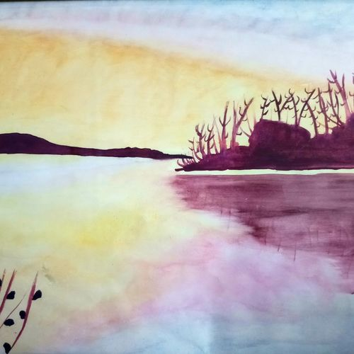 lanscape beauty water reflection., 13 x 11 inch, nikita t,13x11inch,thick paper,paintings,landscape paintings,paintings for dining room,paintings for living room,paintings for bedroom,paintings for office,paintings for bathroom,paintings for kids room,paintings for hotel,paintings for kitchen,paintings for school,paintings for hospital,paintings for dining room,paintings for living room,paintings for bedroom,paintings for office,paintings for bathroom,paintings for kids room,paintings for hotel,paintings for kitchen,paintings for school,paintings for hospital,oil color,pastel color,poster color,paper,GAL01709128238