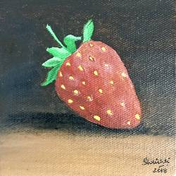 scrumptious strawberry, 4 x 4 inch, shrishti aggarwal,4x4inch,canvas board,still life paintings,paintings for dining room,paintings for living room,paintings for bedroom,paintings for office,paintings for kids room,paintings for hotel,paintings for kitchen,paintings for school,paintings for hospital,paintings for dining room,paintings for living room,paintings for bedroom,paintings for office,paintings for kids room,paintings for hotel,paintings for kitchen,paintings for school,paintings for hospital,acrylic color,GAL01085528296